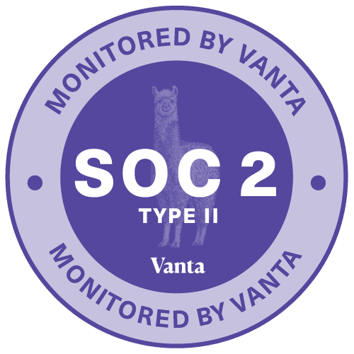 Vanta SOC 2 Embed Badge